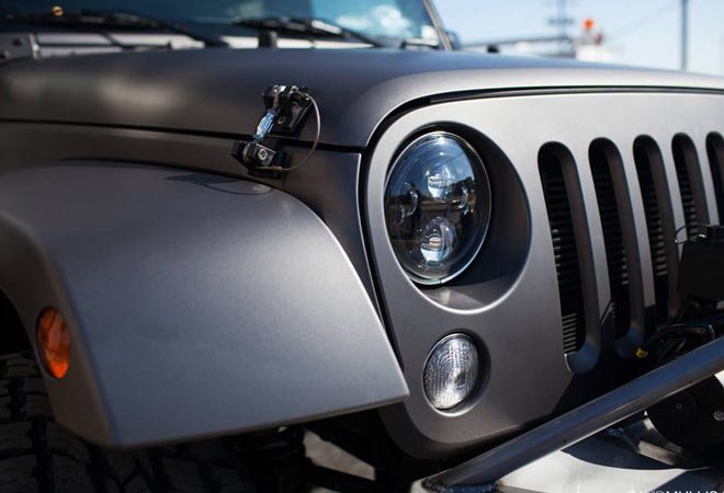 Jeep Grill Detail - Color Change Wrap
