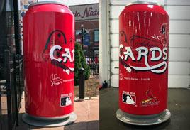 Other - Budweiser Cardinals Baseball Can