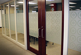 Interior Glass Opaque Film - Architectural
