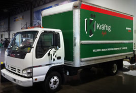 Kraftig Fleet Box Truck - Fleet Vehicles